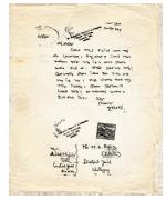 ১৯৬৬ সালে চট্টগ্রাম জেলা কারাগারে বন্দি এম এ আজিজকে লেখা বঙ্গবন্ধুর চিঠি