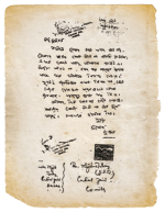 ১৯৬৬ সালে কুমিল্লা জেলা কারাগারে বন্দি মুজিবর রহমানকে লেখা বঙ্গবন্ধুর চিঠি।