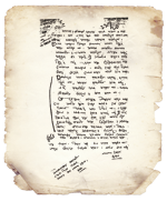 ১৯৫৮ সালে বাবা লুৎফর রহমানকে লেখা বঙ্গবন্ধু শেখ মুজিবুর রহমানের চিঠি।