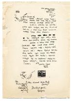 ১৯৬৬ সালে বগুড়া জেলা কারাগারে বন্দি নুরুল ইসলাম চৌধুরীকে লেখা বঙ্গবন্ধু শেখ মুজিবুর রহমানের চিঠি