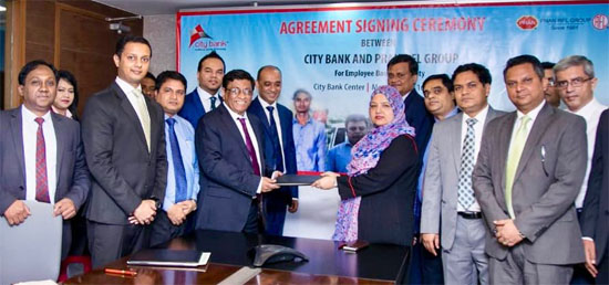 City Bank inked deal with Pran-RFL Group for Employment Banking facility
