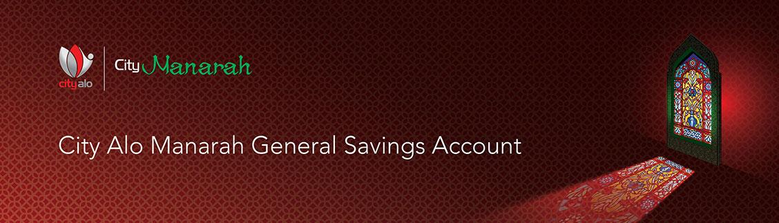 City Alo Manarah General Savings Account